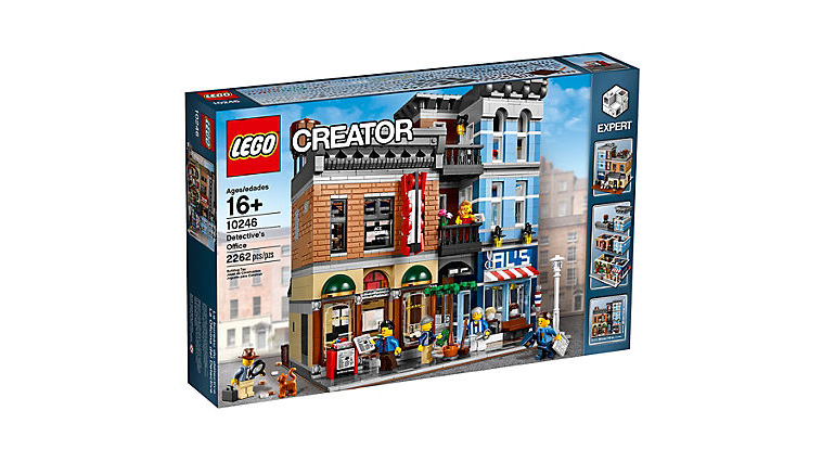 Retiring LEGO Creator Detective Office Set (10246) Being Kept in Reserve Until Black Friday Sale