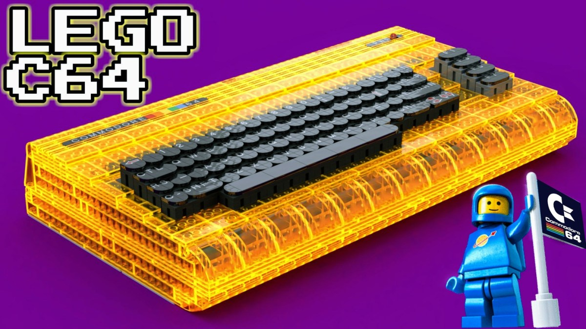 LEGO Ideas Awesome Submission: Working Brick-Built Commodore 64 by Perifractic