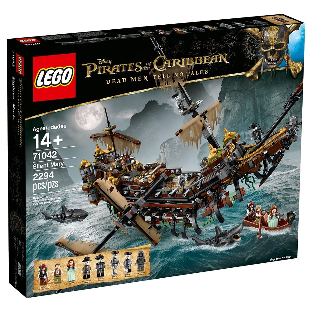 LEGO Pirates of the Caribbean Silent Mary (71042) Discounted on Amazon and Rumored to Retire Soon