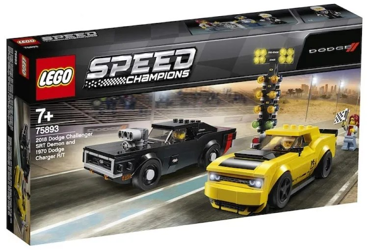 More 2019 LEGO Speed Champions Official Images