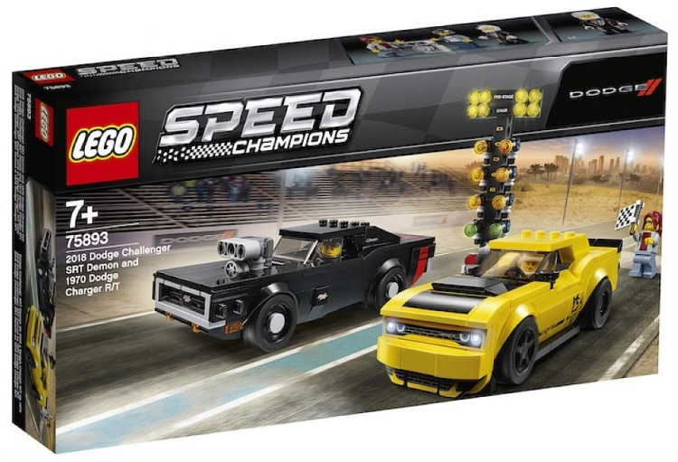 2018 Charger Demon >> More 2019 LEGO Speed Champions Official Images