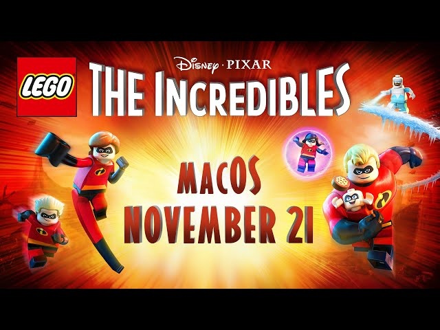 "After Windows and Console Debut, ""LEGO The Incredibles"" Coming to macOS via Feral Interactive"