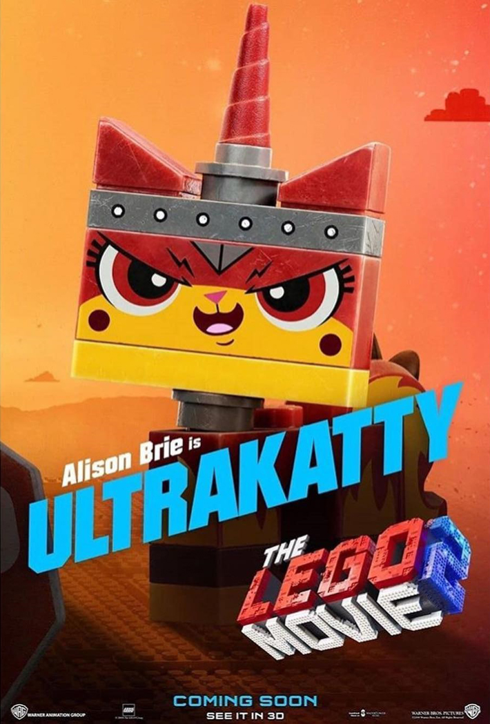 Lego Movie 2 Character Posters Released Online