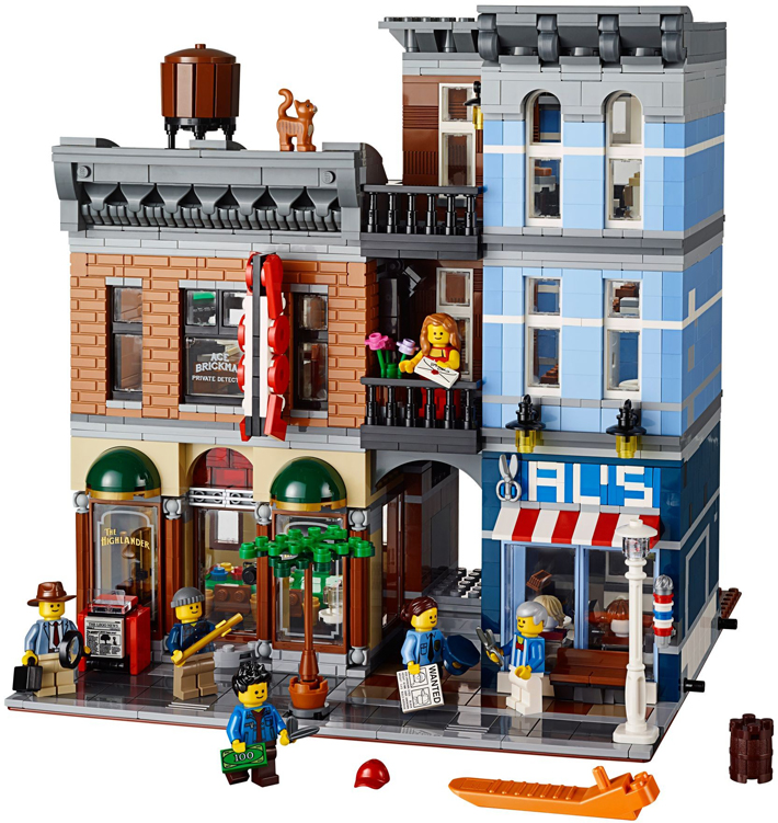 Detectives Office 10246 And Brick Bank 10251 Sets Will Soon Retire