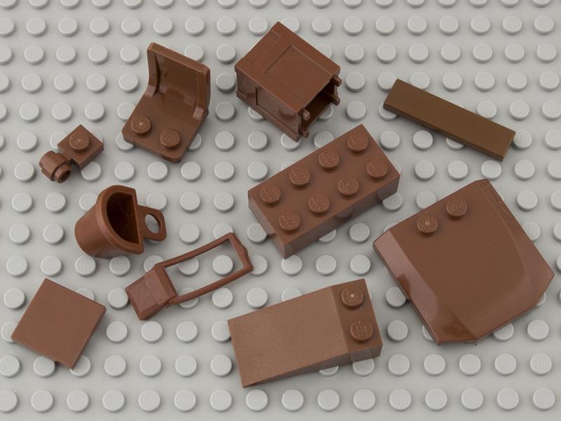 reddish brown bricks