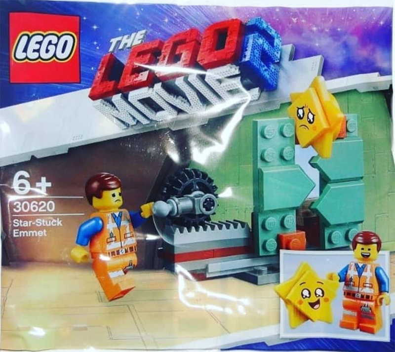 The LEGO Movie 2 Star Stuck Emmet (30620) Polybag Revealed!
