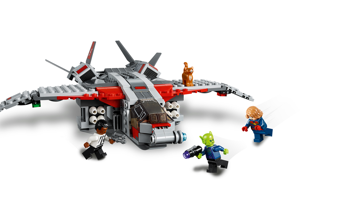 More LEGO Marvel Superheroes Captain Marvel and the Skrull Attack (76127) Official Images