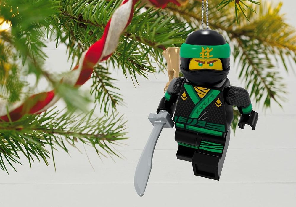 2018 Hallmark Lego Christmas Ornaments Features Joker And Lloyd