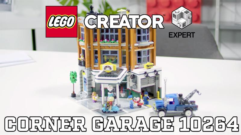 WATCH: LEGO Creator Expert Corner Garage (10264) Designer Video