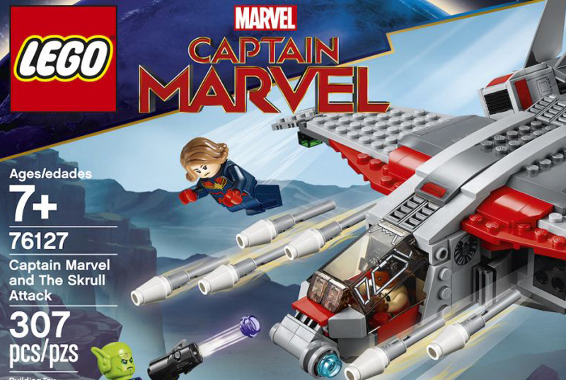 LEGO Marvel Captain Marvel and the Skrull Attack (76127) Official Images Released