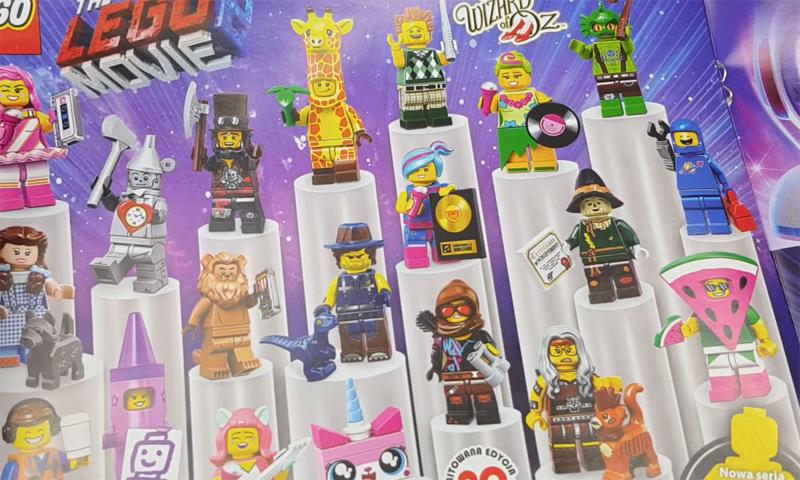Lego The Lego Movie 2 Minifigures 71023 # 5 Crayon Girl