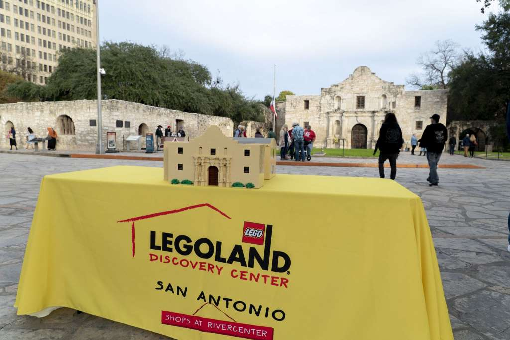 Upcoming LEGOLAND Discovery Center in San Antonio to Preview Miniland Building Models with Best Replica of City Skyline