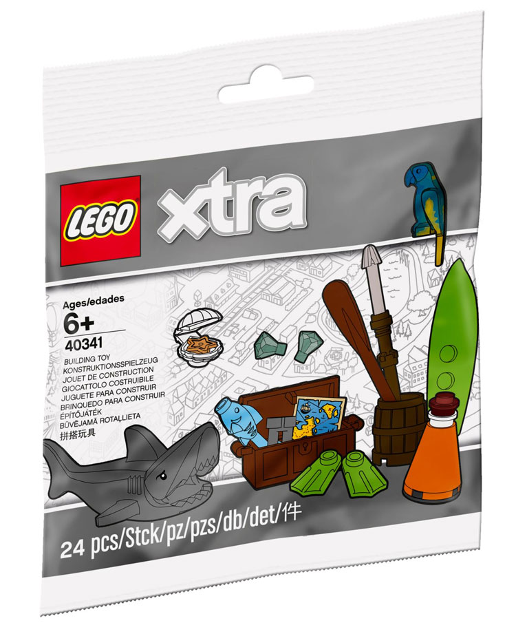 New LEGO xtra Polybag Sea Accessories (40341) Arriving in 2019