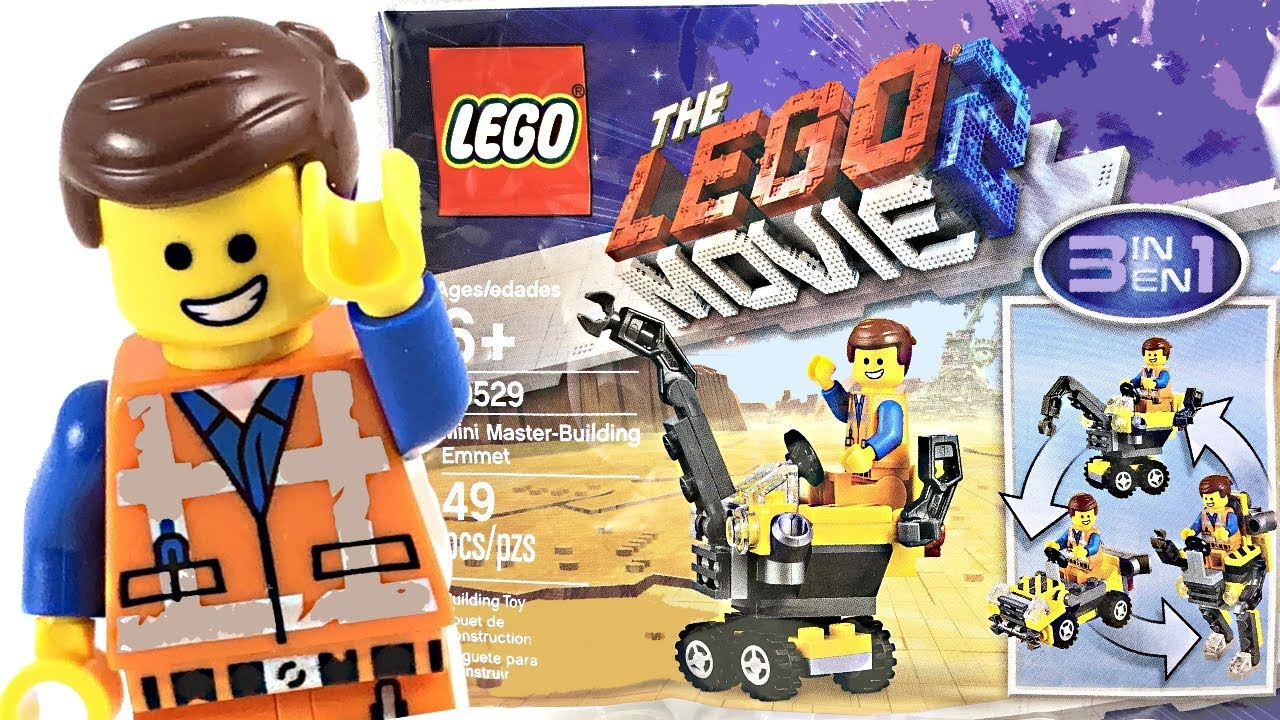 The Lego Movie 2 Polybags Now Available Online And In Uk Lego Stores For 35 Minimum Purchase Mini Master Building Emmet 30529 And Rex Dangervest Plantimal Ambush 30460 The Brick Show