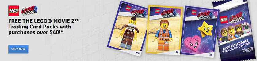 LEGO Movie 2 Trading Cards