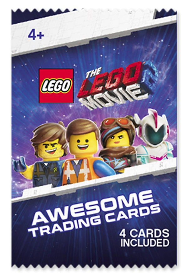The Lego Movie 2 Awesome Trading Card Collector Album VIP Book /& 5 Packs Cards