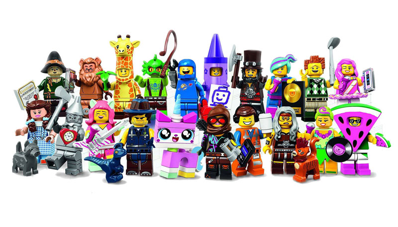 A Closer Look at the LEGO Movie 2 Collectible Minifigures (71023)