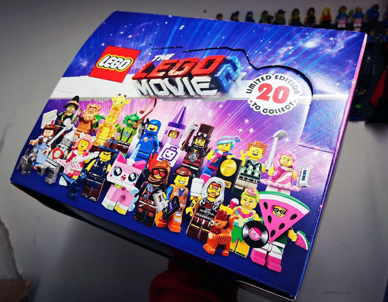 The LEGO Movie 2 Collectible Minifigures (71023) Box Distribution Revealed