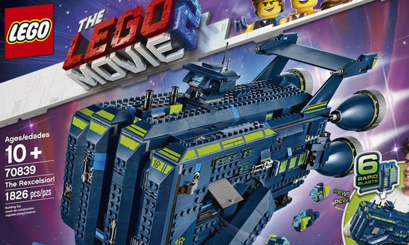The LEGO Movie 2 The Rexcelsior! (70839) Revealed at the London Toy Fair 2019
