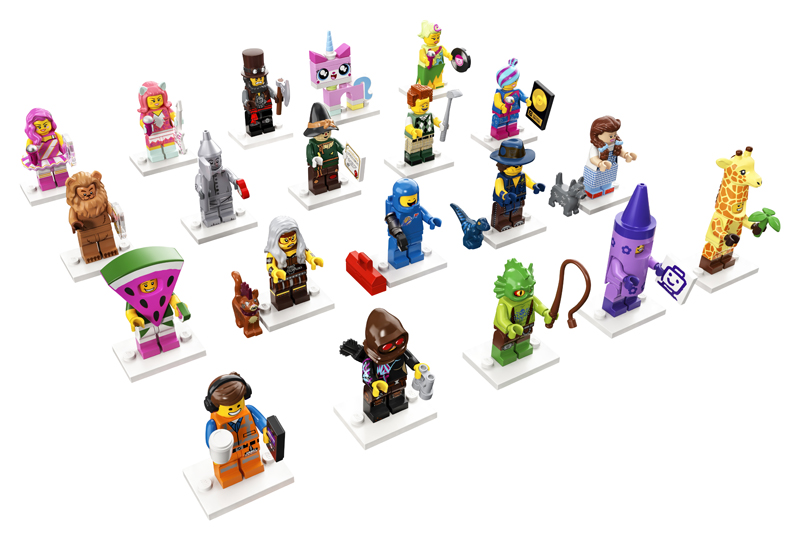 LEGO Reveals the Official Character Names of the LEGO Movie 2 Collectible Minifigures (71023)