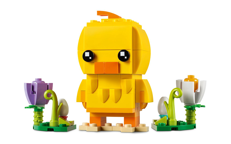 The LEGO BrickHeadz Seasonal Easter Chick (40350) First Official Images Released