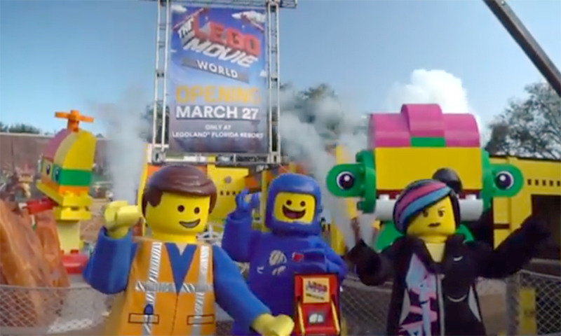 The LEGO Movie World Coming to LEGOLAND Florida Resort