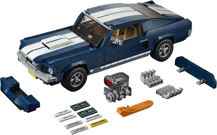 Build Your Own Lego Mustang Model To Win The Creator Mustang 10265