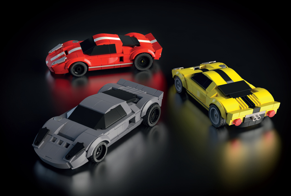 "Custom-Build Cool Cars with New Reference Guidebook: ""How to Build Dream Cars with LEGO Bricks"""