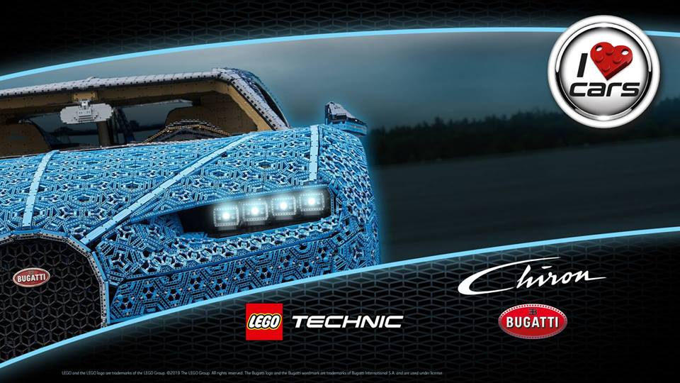 First US Appearance of LEGO Life-Sized Bugatti Chiron in Disney Springs, Disney World