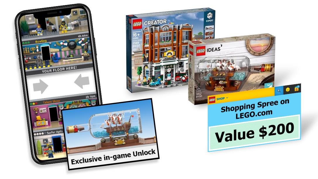 """LEGO Ideas Launches """"LEGO Tower"""" Floor Design Contest"""
