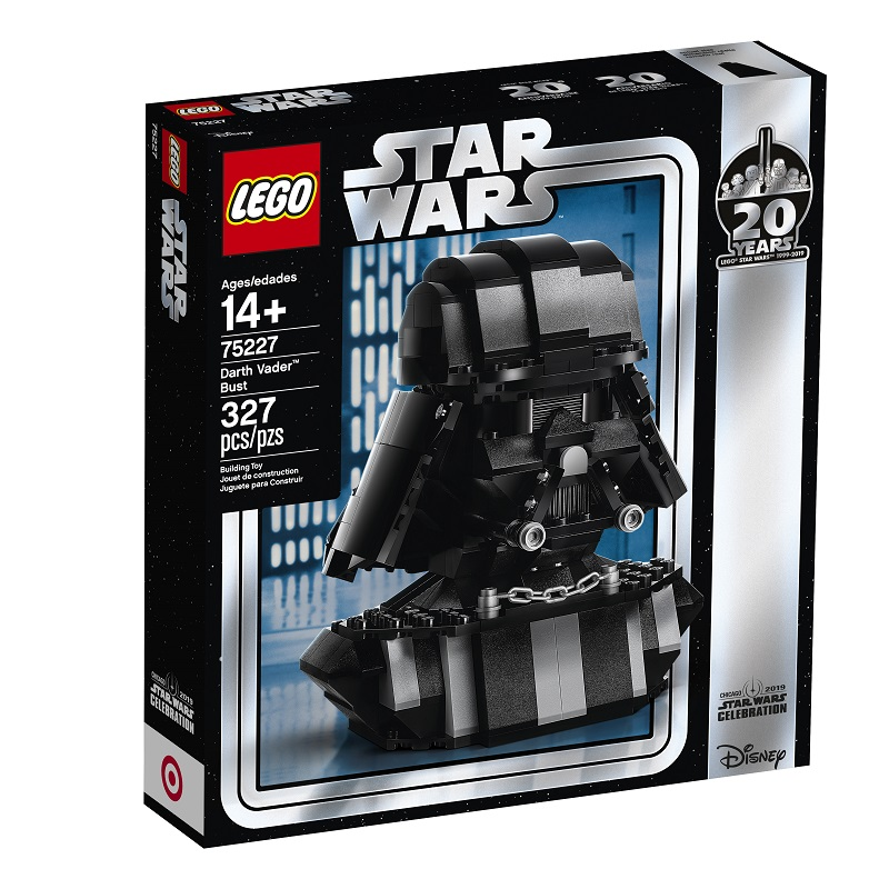 Can't Get Special LEGO Star Wars Vader Bust (75227) Set? LEGO Releases Official Parts List and Building Instructions