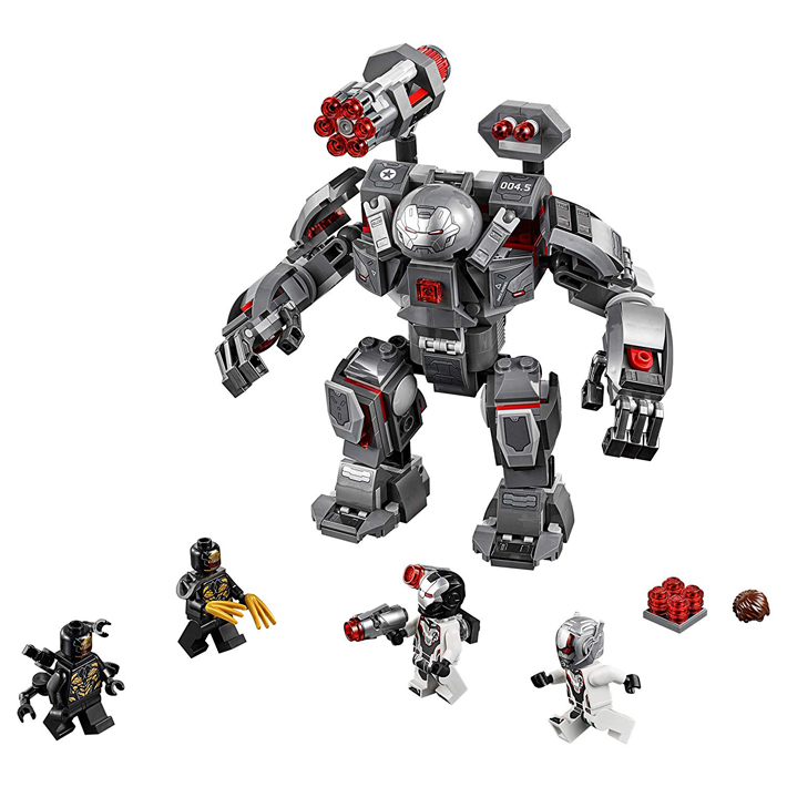 "Reddit Rumor: Product Descriptions for ""Avengers: Endgame"" LEGO Tie-In Sets – Iron Man Armor Room (76125) and Avengers Compound Battle (76131)"