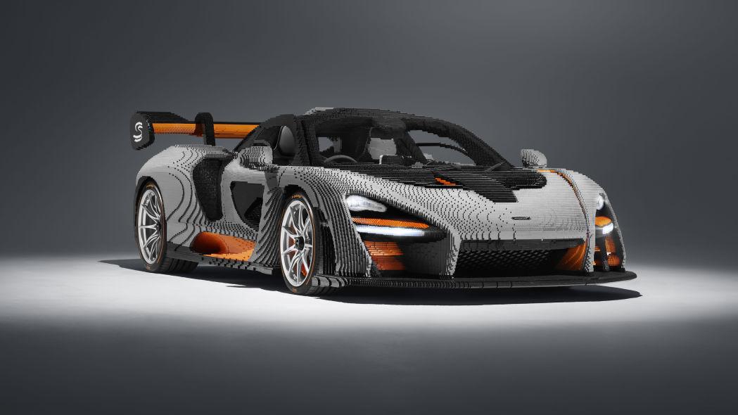 LEGO Builds Another 1:1 Brick (Non-Functional) Sports Car: McLaren Senna