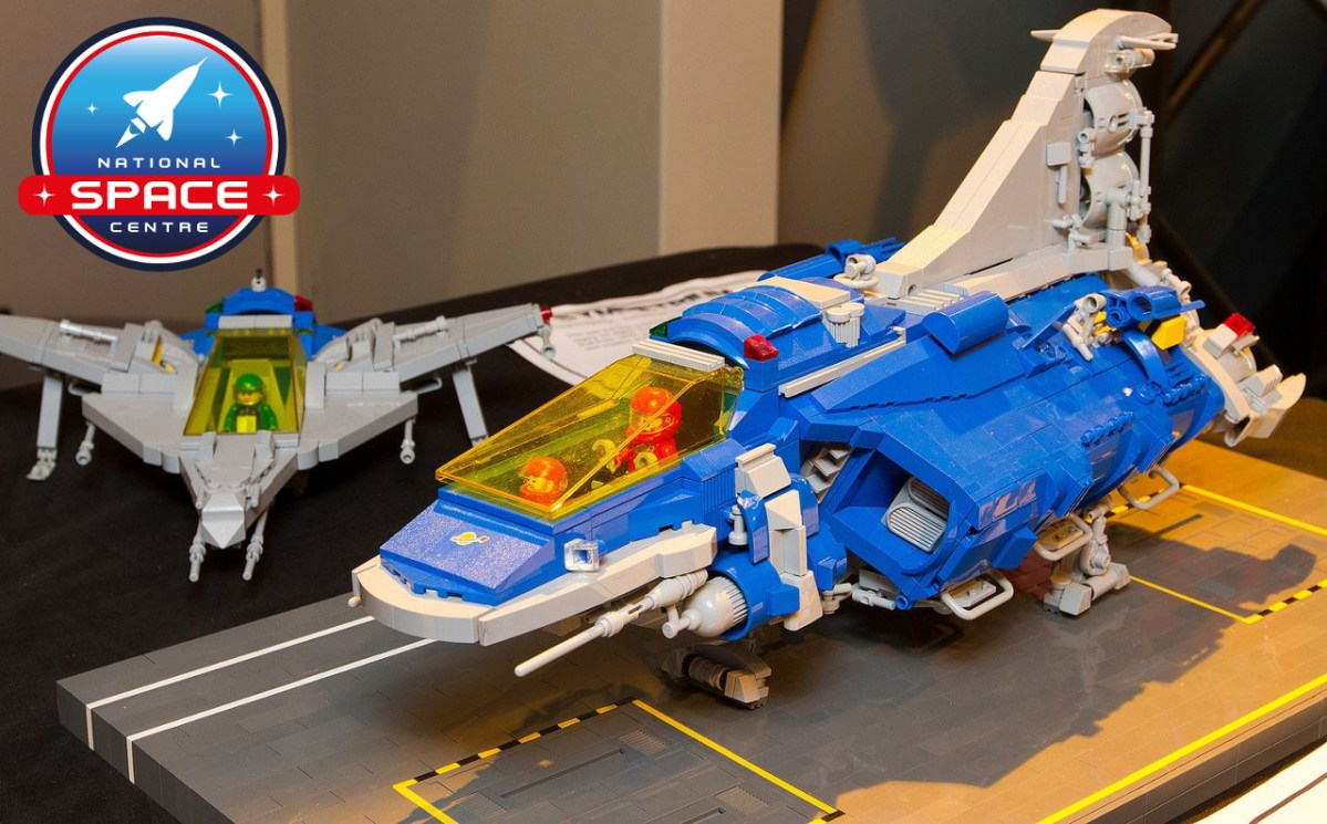 "LEGO Event ""Brickish Weekend"" at UK's National Space Centre in Leicester this Saturday"