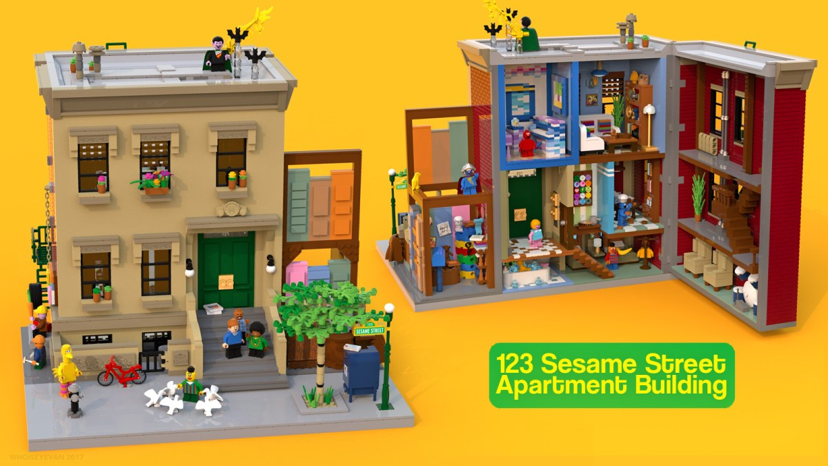 "2017-Featured LEGO Ideas Submission ""Sesame Street"" Now Close to 10-K Milestone with 200+ Days Left"