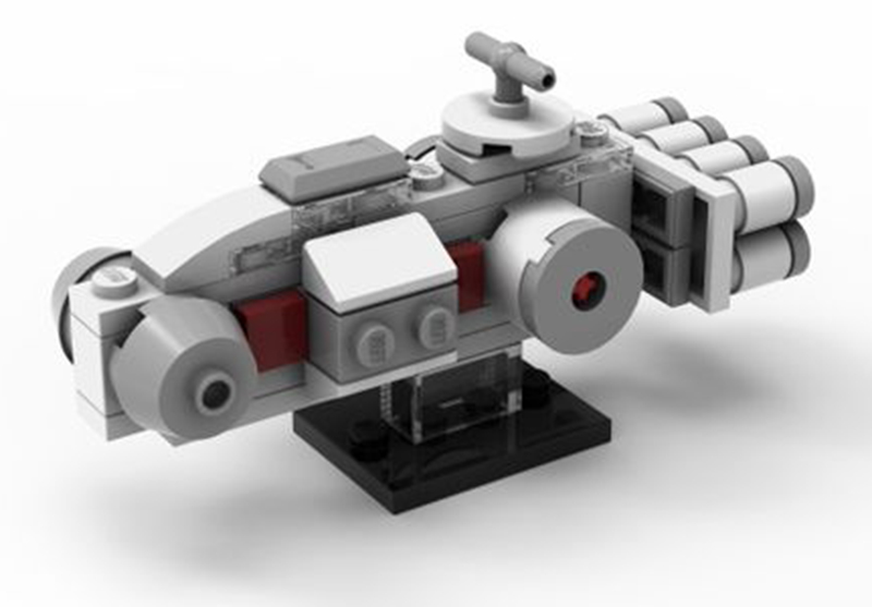 Be Sure To Grab This Free LEGO Star Wars Mini Tantive IV Make and Take Set This May