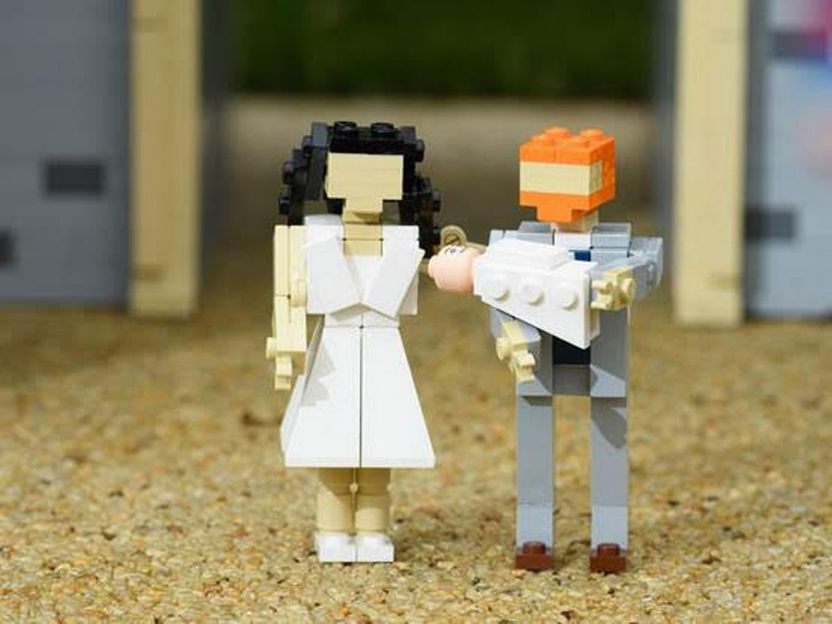 "LEGOLAND Windsor Depicts Royal Baby Presentation, with Free Admission to Guests Named ""Archie"""