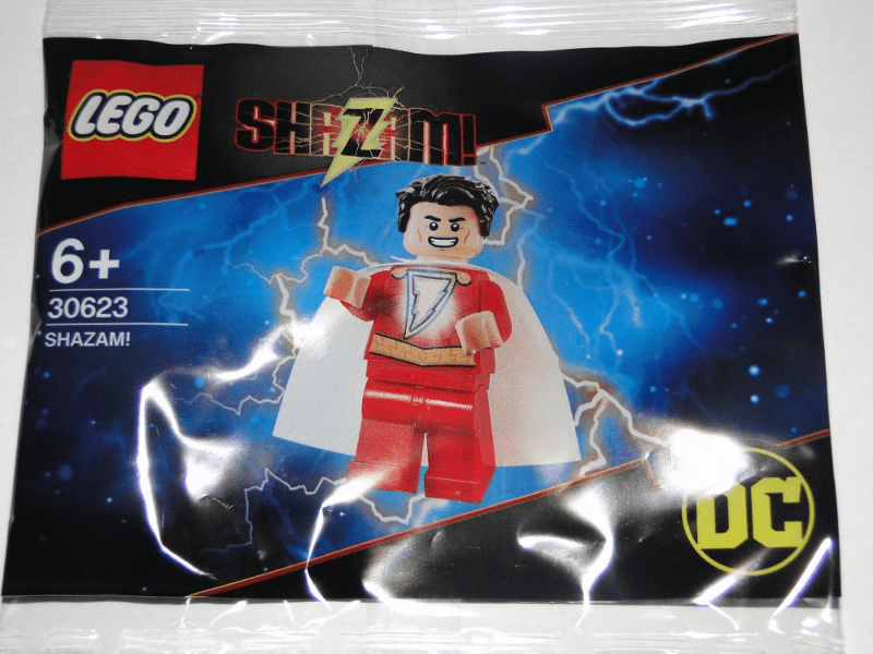 """LEGO Minifigure Polybag for """"Shazam!"""" (30623) Spotted by Bricklink"""