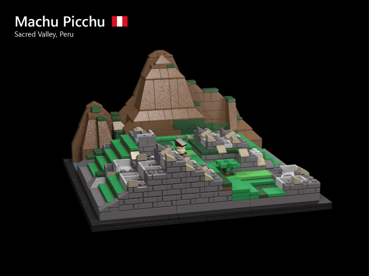 New LEGO Ideas 10-K Passer for First 2019 Review Stage: DDBDR's Machu Picchu