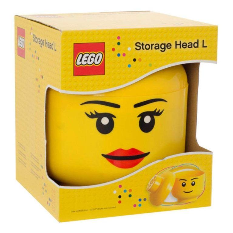 Minifigure-Head Containers