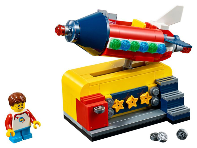 LEGO Ideas Space Rocket Ride (40335) Official Images Released