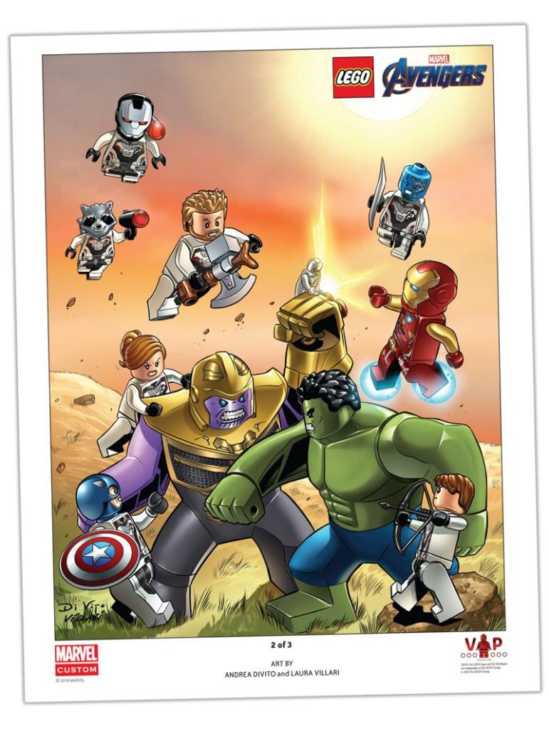 LEGO Avengers: Endgame Art Print