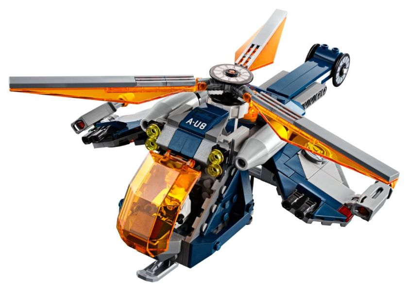 Avengers Hulk Helicopter Drop (76144)