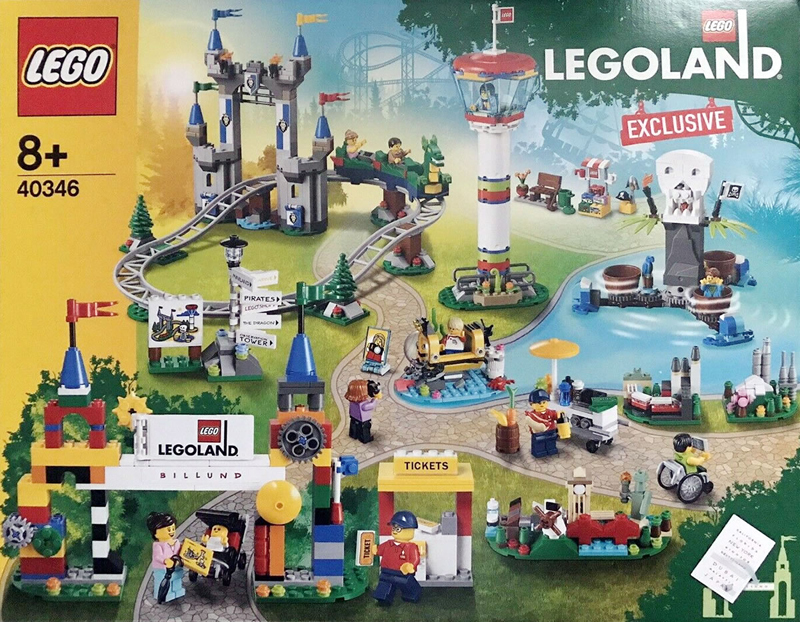 Exclusive LEGOLAND Park (40346) Set Building Instructions Now Available Online