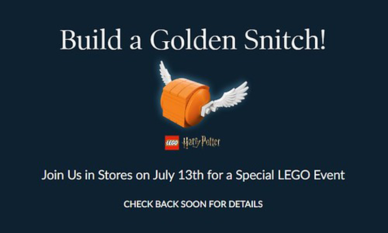 Here's Your Chance to Bring Home a LEGO Harry Potter Golden Snitch at Barnes & Noble