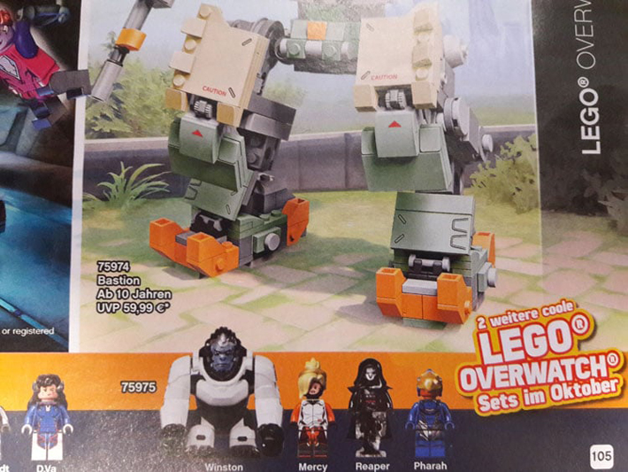 New LEGO Overwatch Sets