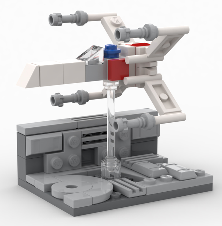 LEGO Star Wars X-Wing Trench Run