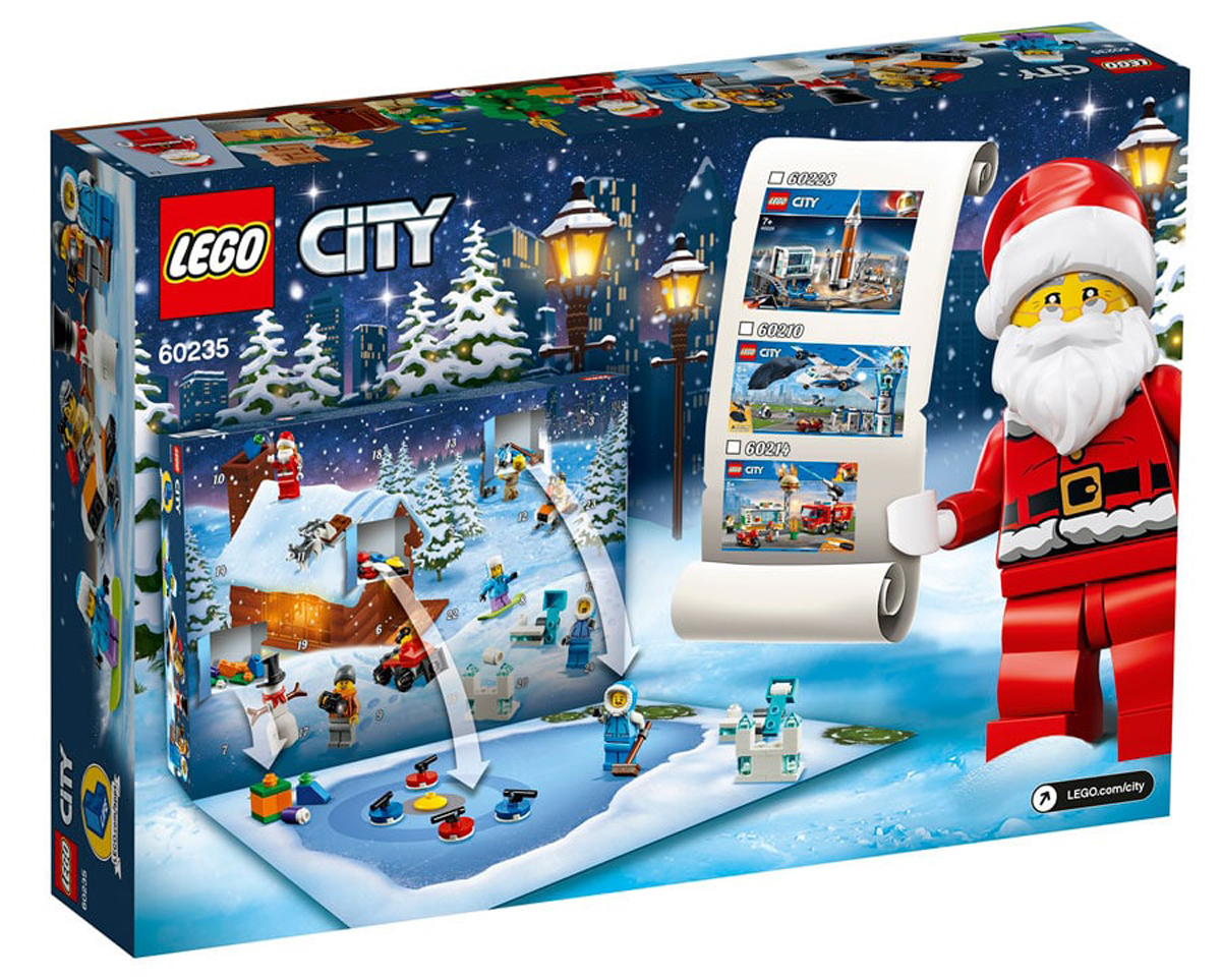 new 2019 lego advent calendars official images revealed. Black Bedroom Furniture Sets. Home Design Ideas