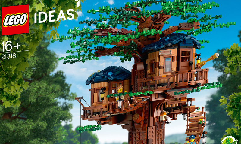 LEGO Ideas Tree House (21318) Officially Revealed