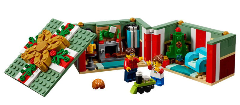 LEGO Christmas Gift Box (40292) Promotional Set Still Up at LEGO Shop@Home